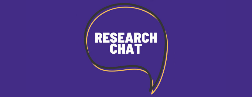 research chat cover art