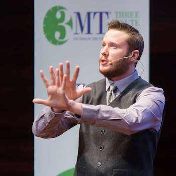 Spotlight story image pertaining to Richard Edwards competes at 3MT