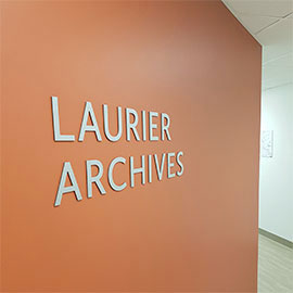 Spotlight story image pertaining to Archives sign