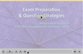 Exam Preparation webinar screen capture