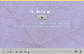 Study Groups webinar screen capture