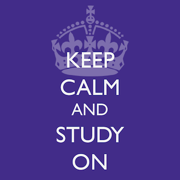 Spotlight story image pertaining to keep calm and study on graphic