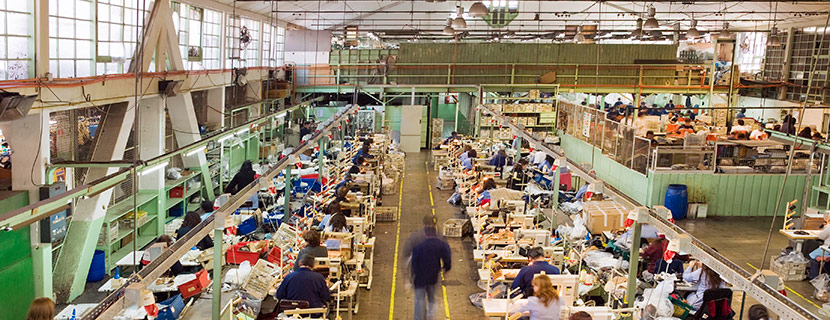 workers in a factory