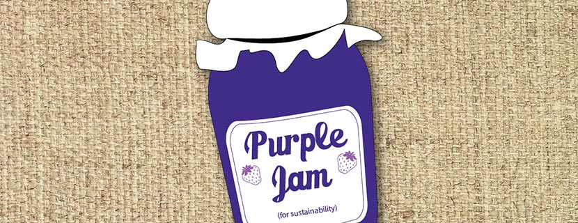 purple jam jar