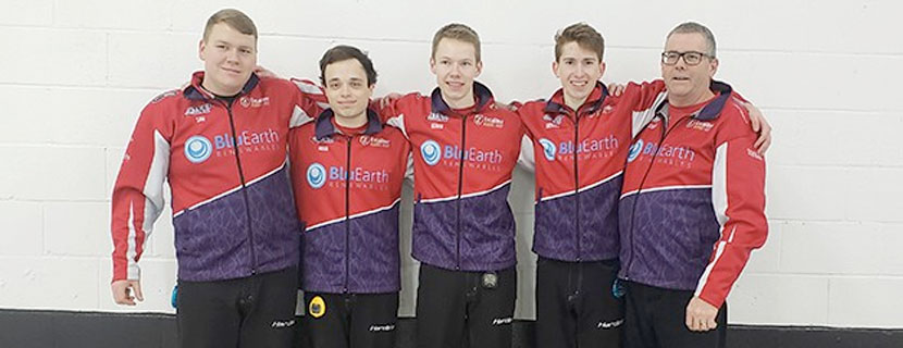 Laurier curling Team