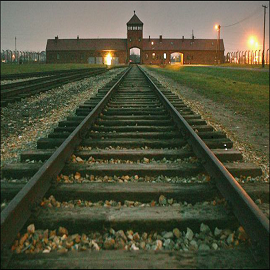 Spotlight story image pertaining to railroad-tracks-into-auschwitz