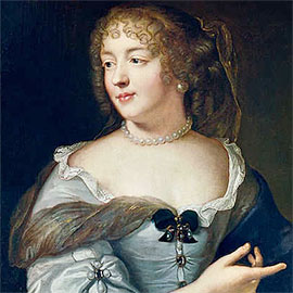 Spotlight story image pertaining to Portrait of Marie de Rabutin-Chantals