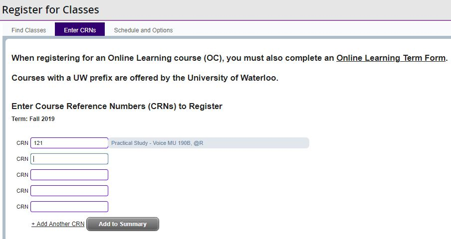 Register for Courses, Course Registration Guide | Students