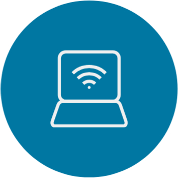 Laptop with WiFi