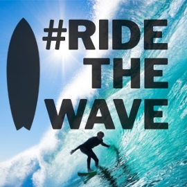 Spotlight story image pertaining to wave and surfer